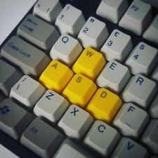 Yellow WASD ABS Keycap set Cherry MX Mechanical Keyboard Keycaps