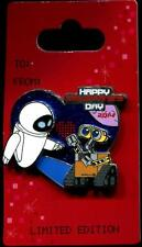 2014 Valentine's Day Wall-E and Eve LE Disney Pin 99574