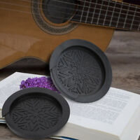 Rubber Guitar Feedback Buster Soundhole Cover Block for Acoustic Guitar 38''/39'