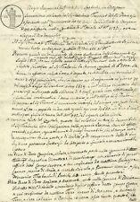 Bergamo Regno Lombardo Veneto - Regio Imperial Uffizio delle Ipoteche 1817