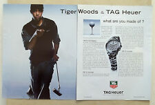 B652-Advertising Pubblicità-2003 - TAG HEUER TESTIMONIAL TIGER WOODS