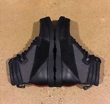 DVS Bishop Boots Men's Size 7 US Black Leather Cordura BMX DC Skate Chukkas
