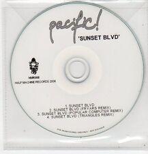 (FF441) Pacific, Sunset Blvd - 2008 DJ CD