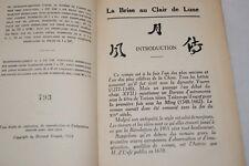 Brise au Clair de Lune,Cahiers Verts,SOULIE DE MORANT
