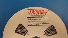 (20 PCS) 07525-121K JW MILLER 120uH 10% INDUCTOR, COIL, FILTERS