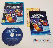 Nintendo Wii U - Turbo Équipe De Cascadeurs - PAL