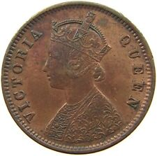 INDIA BRITISH 1/4 ANNA 1862 #a10 473