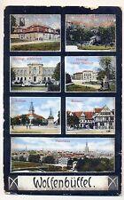 H 191 - Wolfenbüttel, 7-Bild, Panorama etc,1915(?) gl.