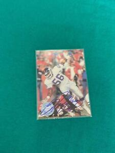Lawrence Taylor Autographed Football Card - New York Giants
