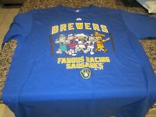 Milwaukee Brewers Youth T-Shirt - Youth XL - Blue