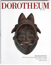 DOROTHEUM June 2016, Tribal Art auction catalogue