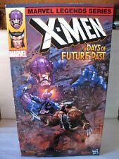 """2017 Marvel Legends Amazon Exclusive 6"""" X-Men Wolverine & Sentinel New MIP HTF"""