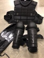 Galls / Damascus Riot Gear Body Suit Chest Protection Shin Guards NO RESERVE NEW
