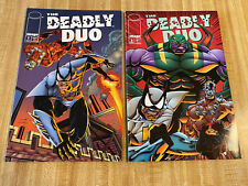 Deadly Duo #1 - #2 by Erik Larsen Andy Smith (1994, Image)