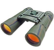 10x25 Camo Mimetica Esercito SPY Binocolo Leggero Compatto Tascabile pieghevole nuovo