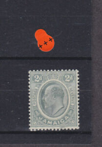 Jamaica KEVII SG 57 Cat £10.00 Mounted Mint