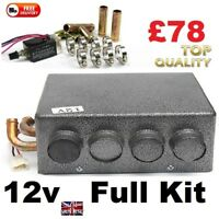 Motorhome & Camper 12v Air Conditioning Heater with Speed Switch Kit  SELF BUILD