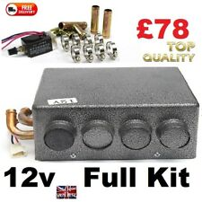 Motorhome & Camper 12v Air Conditioning Heater with Speed SwitchKit  SELF BUILD