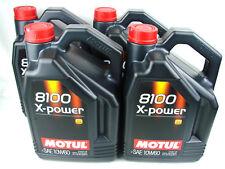 Motul aceite lubricante motor 8100 X-power 10w60 5L