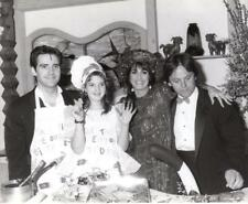 Drew Barrymore Michael Praed & Wolfgang Puck - 1986 - Vintage Celebrity Photo