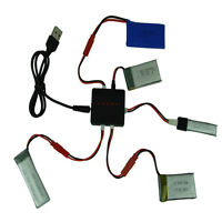 USB Interface Battery Adapter Charger For Syma X5 X5C X5C-1 3.7V 5 in 1 Lipo