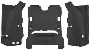 New! 2007 - 2018 JEEP Wrangler Carpet Set Molded Pick Color Cargo Area Only