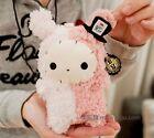 FD4455 Rilakkuma San-X Sentimental Circus plush rabbit phone bag hang neck 1PC:)