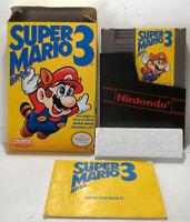 Rare - Super Mario 3 Left Bros - Complete In Box CIB - NES Nintendo - Tested