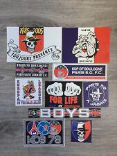 Lors De 10 stickers ultras Paris PSG Kob Boulogne Boys