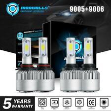 9005+9006 Combo LED Headlight Bulb Kit for Chevy Silverado 1500 2500 HD 001-2006