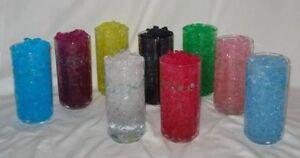 Vase Filler - water storing centerpiece crystals  Water beads
