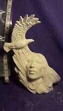 """Ceramic bisque Eagle spirit 11 1/2"""" Ceramic Bisque, ready to paint"""