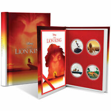 THE LION KING 4x1oz Proof Silver Coin Set