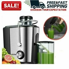 Juicer Extractor Commercial Machine Electric Wide Mouth Juice Fruit Vegetable