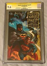 Legends of the World's Finest #1 CGC 9.6 SS Signed By Daniel Brereton DC Comics!