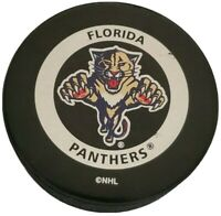 FLORIDA PANTHERS OFFICIAL GAME PUCK NHL GARY B. BETTMAN INGLASCO VINTAGE 🇨🇦