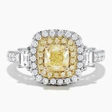Gorgeous Women Citrine Birthstone 925 Silver Rings Wedding Ring Size 10