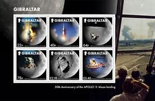 Gibraltar - 2019 - Moon Landings 50th Anniversary - Miniature Sheet