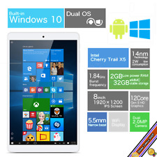 PC Tablet 2GB RAM 32GB ROM Quad Core Intel Z8350 WINDOWS 10 + ANDROID - Full HD