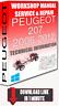 Service Workshop Manual & Repair PEUGEOT 207 2006-2012 +WIRING   FOR DOWNLOAD