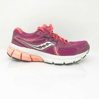 Saucony Womens Mystic S15248-4 Pink Orange Running Shoes Lace Up Low Top Size 5
