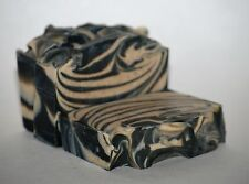Organic Cows Milk & Activated Charcoal Soap made w/ Organic Coconut Oil Handmade