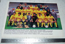 CLIPPING POSTER FOOTBALL 1988-1989 UNION SPORTIVE ORLEANS