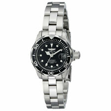 Invicta Women's Watch Pro Diver Black Dial Stainless Steel Bracelet 17032
