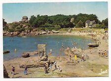 """ploumanac""""h  la plage de st-guirec  l'oratoire et le chapeau de napoléon"""