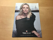 Booklet Brochure TAG HEUER - Aquaracer - Link - Carrera - Golf Watch - Formula 1