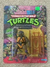 TMNT 1988 Teenage Mutant Ninja Turtles Donatello Action Figure Toy Sealed MOC