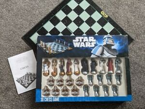 Star Wars 3D Chess Game - Official Star Wars Chess Set