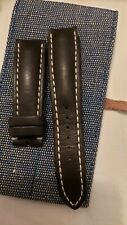 Breitling leather strap 22mm, ref 441X