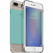 Authentic Mophie iPhone 7 Plus Clear Case Teal Mint Impact Cover Genuine OEM New
